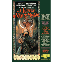 A Little Night Music Adelphi Theatre Poster